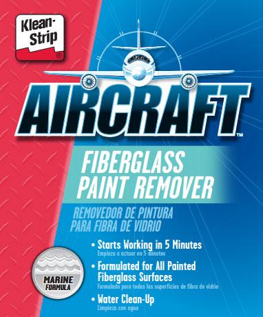 Fiberglass paint stripper
